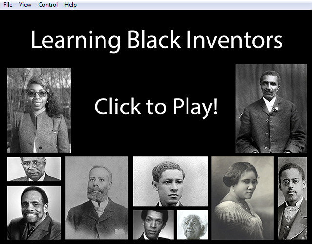 Black inventor project help?